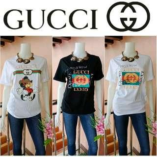 GUARANTEED AUTHENTIC -Yunik- Take All 3 Brandnew GUCCI Shirts