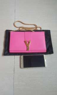 YSL saint laurent woc chain wallet 袋