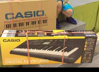 Casio CTK-2400 Digital Keyboard with stand