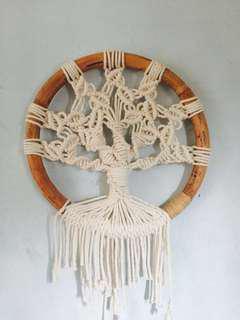 Macrame-Tree of Life