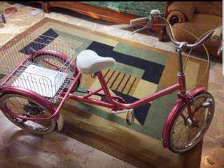 Maruishi 3 wheel bike from Japan(rare)