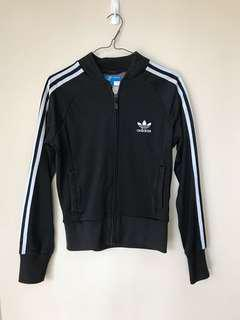 Authentic Adidas Black and White Jacket