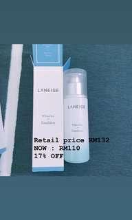 Laneige Dew White Skin Emulsion