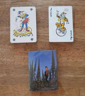 🚚 Playing Cards - brand new 3 numbers