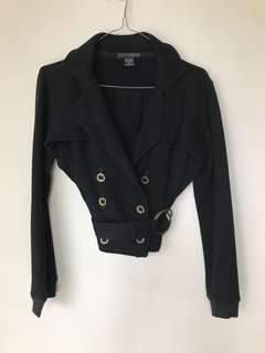 Black Buckle Jacket