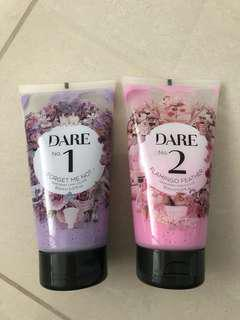 Dare Pink and Purple Temporary Hair Colour