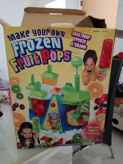 Frozen fruit pops maker (good for small children)