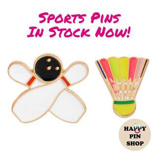[IN STOCK] Bowling and Rainbow Shuttlecock