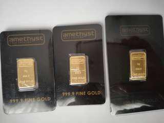 Gold Bar 999