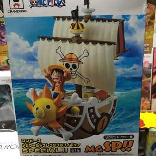 One Piece WCF Mega Thousand Sunny Ship Monkey D Luffy