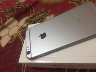 Iphone 6plus 16 gb Fullset lengkap