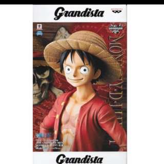 Banpresto One Piece Grandista Monkey D Luffy