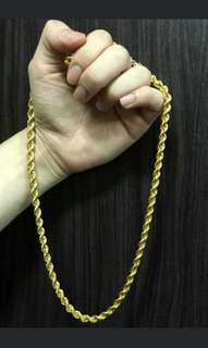 916 Gold chain (new)