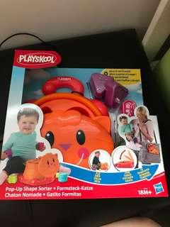 Playskool shapes sorter