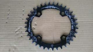 OVAL CHAINRING 36T 104bcd
