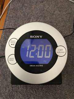 Sony clock radio with iPhone/iPod dock