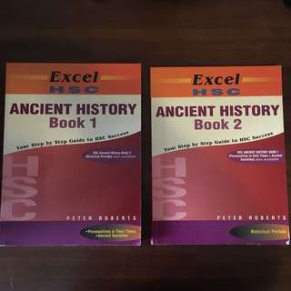EXCEL HSC Ancient History books 1 & 2