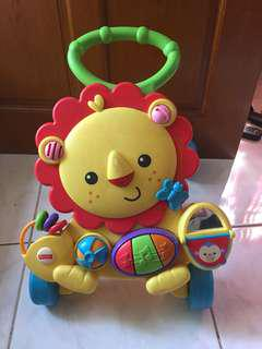 Fisher Price Push Walker (with flaw)