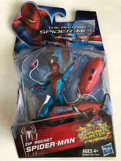 Amazing Spider-Man - Zip Rocket Spider-Man with Zipline Blaster