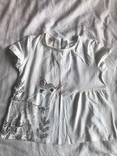 Zara Kids Deer T-shirt