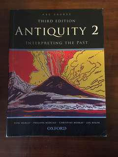 HSC Ancient History Antiquity 2 textbook