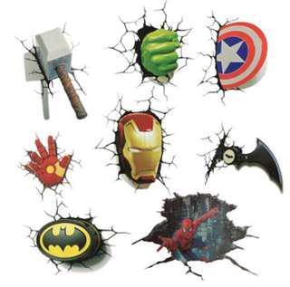 PO Brand New Marvel Avengers Car Stickers