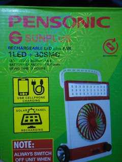 SALE! Rechargeable LED plus Fan