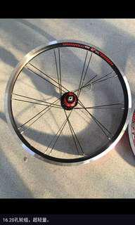 Litepro KFun Kinetix Pro Wheelset 20inch 406