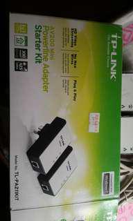 Tp-link Tl-pa211kit 200MB home plus powerline adapter 上網 延長