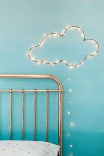 Silver wired Fairy Lights (bendable to form shape))