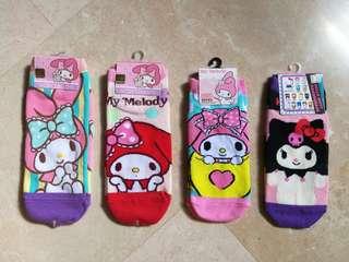 My Melody and Kuromi Socks