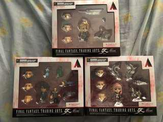 Final Fantasy Trading Arts Kai Mini (Cloud, Squall, Lightning)