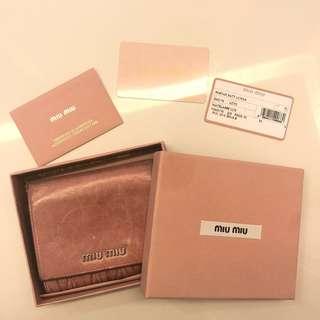 <二手> Miu Miu銀包 | <2nd hand> Miu Miu Wallet