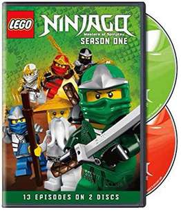 LEGO Ninjago : Master of Spinjitzu - Season 1 DVD 樂高 旋風忍者