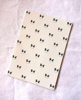 Cute Panda Lined Notebook  #EVERYTHING18
