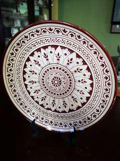 #UNDER90 Clay/ Ceramic Plate from Cyprus