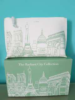 *New* La mer cosmetic travel zip bag