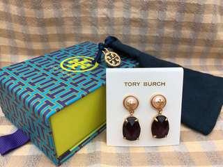 Tory Burch Gold Faux-pearl Crystal Drop Earrings