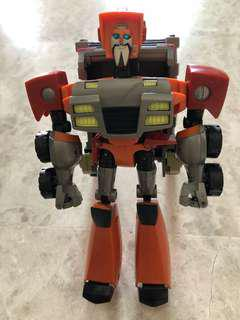 Transformers Animated Wreck Gar (Voyager Class)
