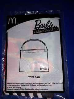 MCDONALD'S Barbie's fashionistas tote bag
