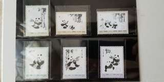 中國郵票 (熊貓)