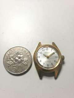 1960s Stainess Steel gold plated Citizen Ladies Watch