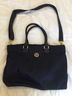 Authentic Tory Burch Navy Blue Bag
