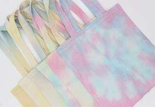 Tie-Dye Pastel Tote Bag