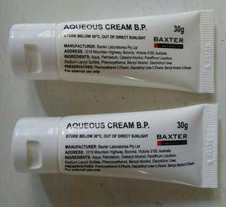 Aqueous cream 天然無色無味潤膚膏