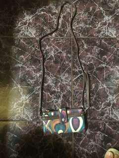 Preloved org RELIC sling wallet