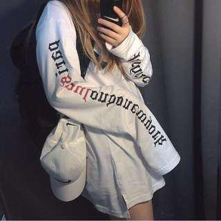 INSTOCK ulzzang wordings pullover