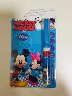米奇老鼠 剪刀 學生 安全 便攜 全新 Mickey Mouse scissors safe student brand new