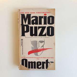 Novel Omerta - Mario Puzo Impor