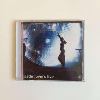 VCD Sade - Lovers Live